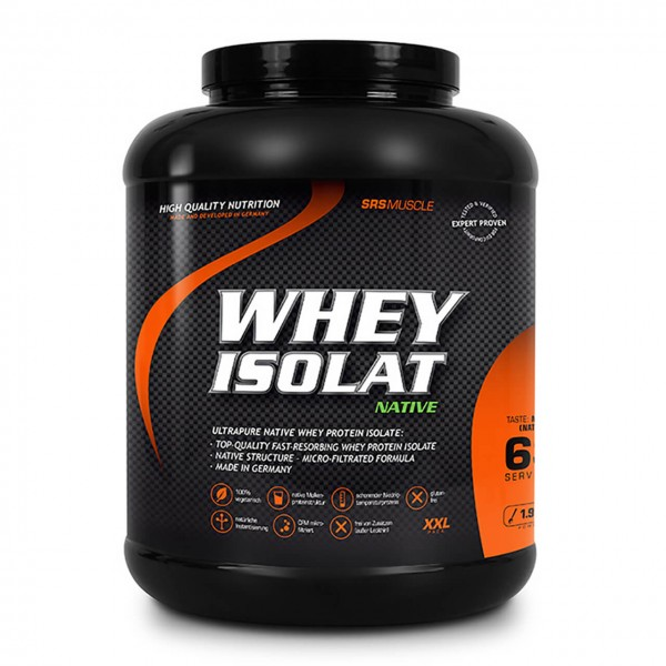 SRS Muscle Whey Isolat (1900g)