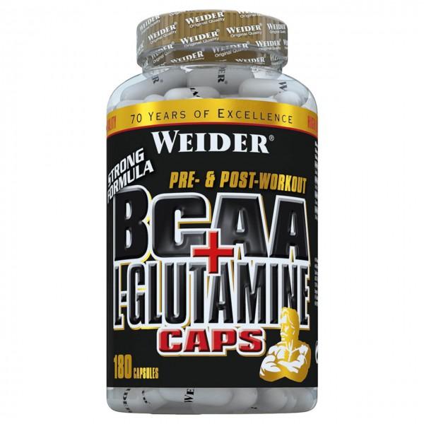 Weider BCAA + L-Glutamine (180 Kapseln)