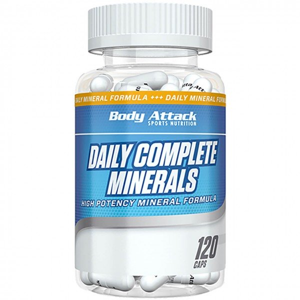 Body Attack Daily Complete Minerals (120 Kapseln)