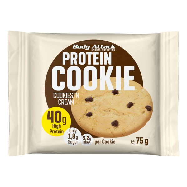 Body Attack Protein Cookie (12x75g)