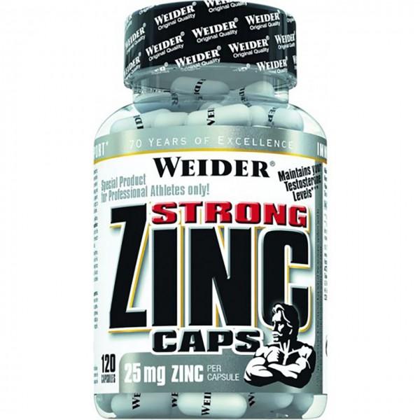 Weider Strong Zinc (120 Kapseln)