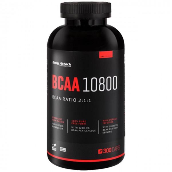 Body Attack BCAA 10800 (300 Kapseln)