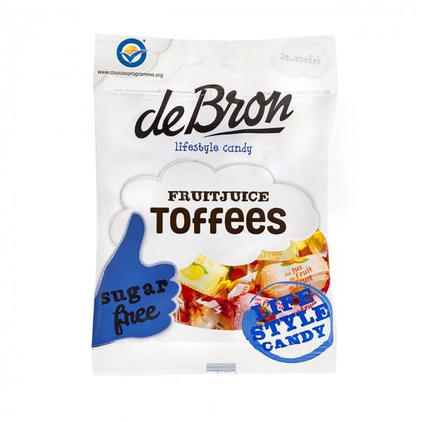 de Bron Fruitjuice Toffees (90g)