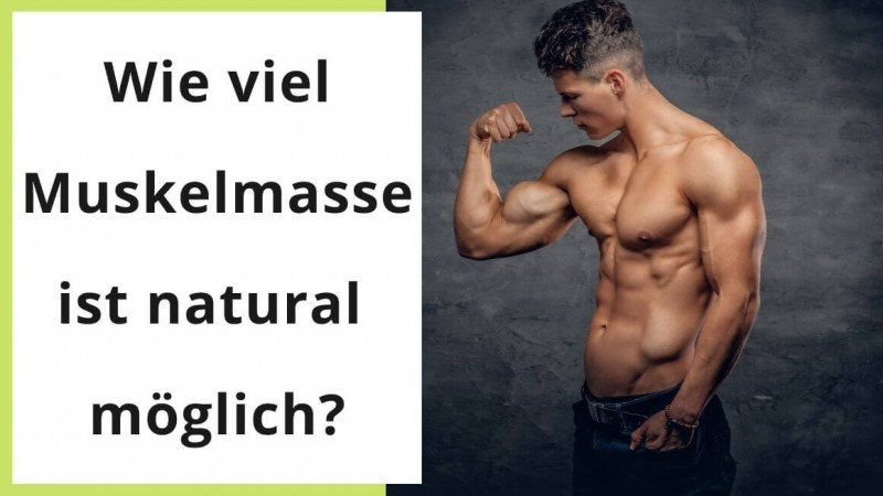 Wie viel Muskelmasse ist natural möglich? Jetzt lesen.