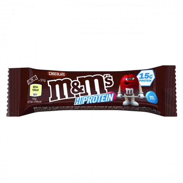 M&M Hi-Protein Bar (51g)
