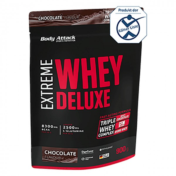 Body Attack Extreme Whey Deluxe (900g)