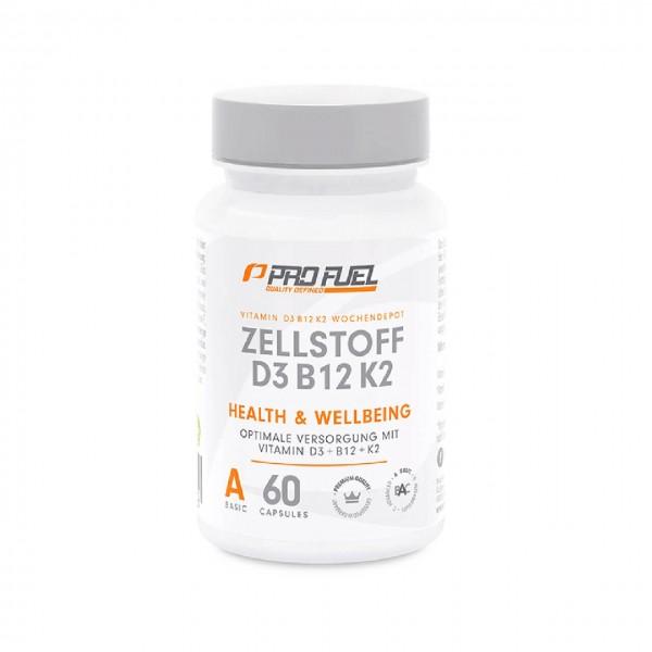 Profuel Zellstoff D3B12 (60 Kapseln)