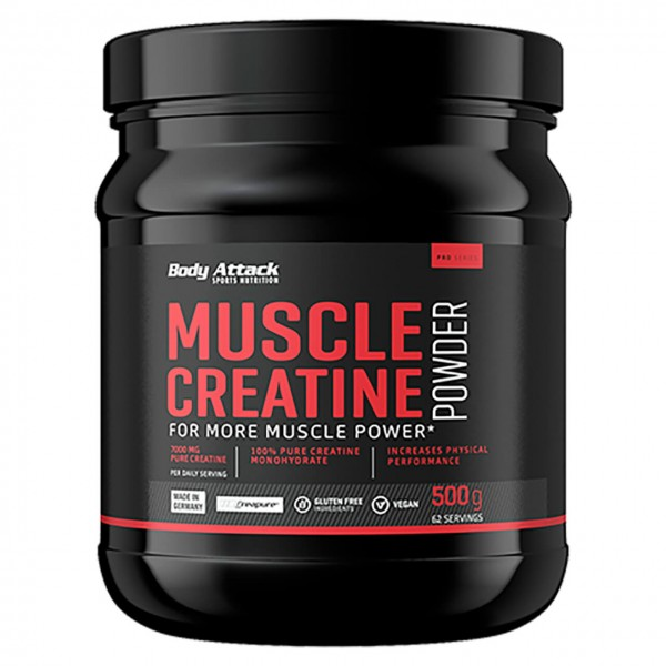 Body Attack Creapure Muscle Creatine (500g)