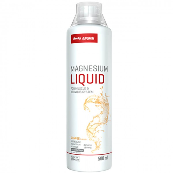 Body Attack Magnesium Liquid (500ml)