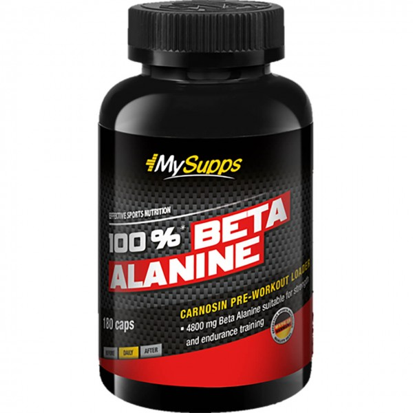 My Supps 100% Beta Alanine Caps