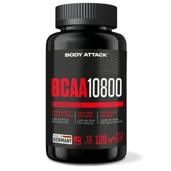 Body Attack BCAA 10800 (120 Kapseln)