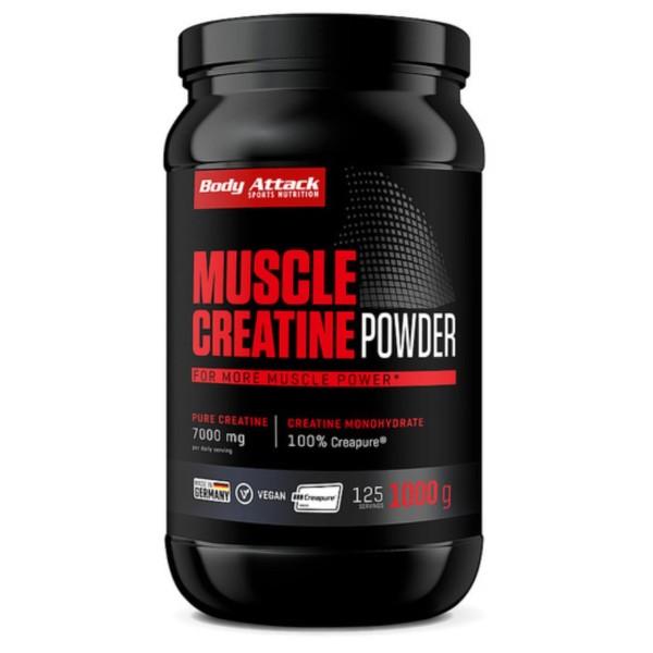 Body Attack Creapure Muscle Creatine (1000g)