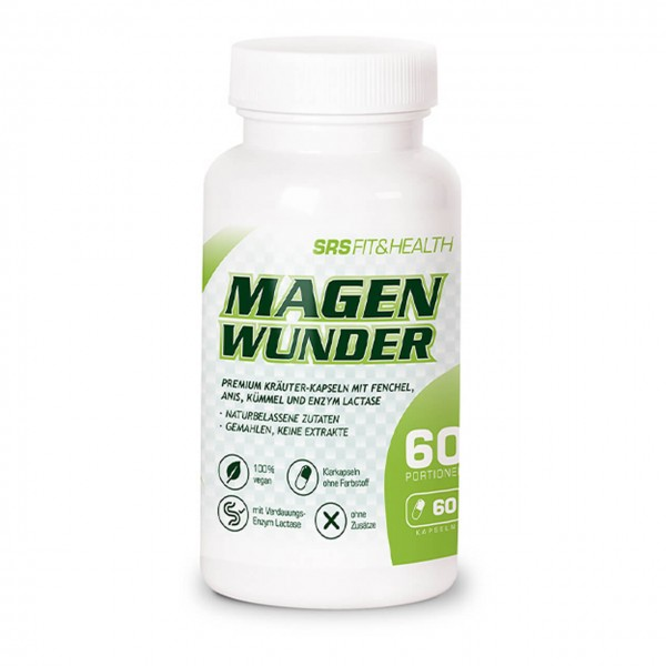 SRS Fit&Health Magenwunder (60 Kapseln)