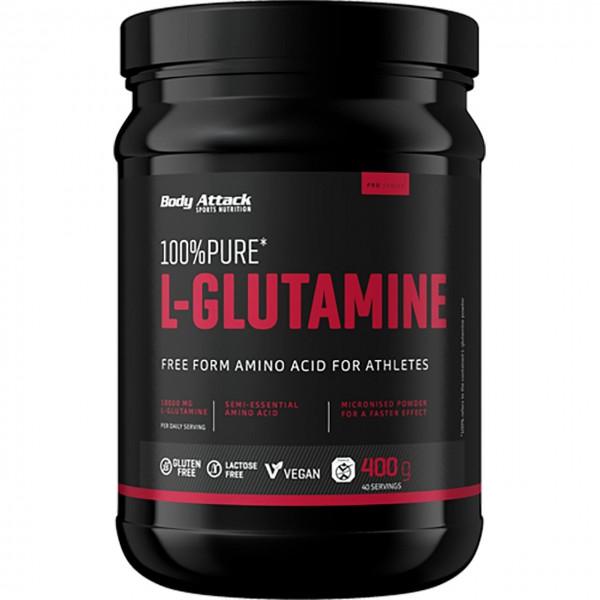 Body Attack 100% Pure L-Glutamine (400g)