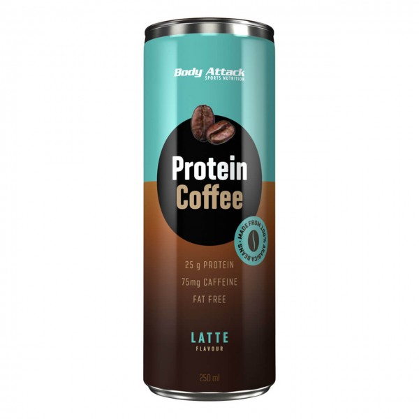 Body Attack Protein Coffee (250ml)