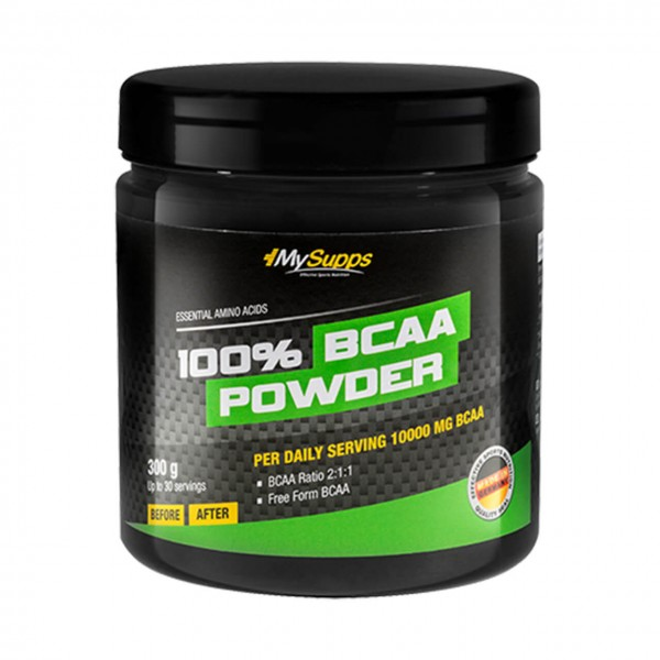 My Supps 100% BCAA Powder (300g)
