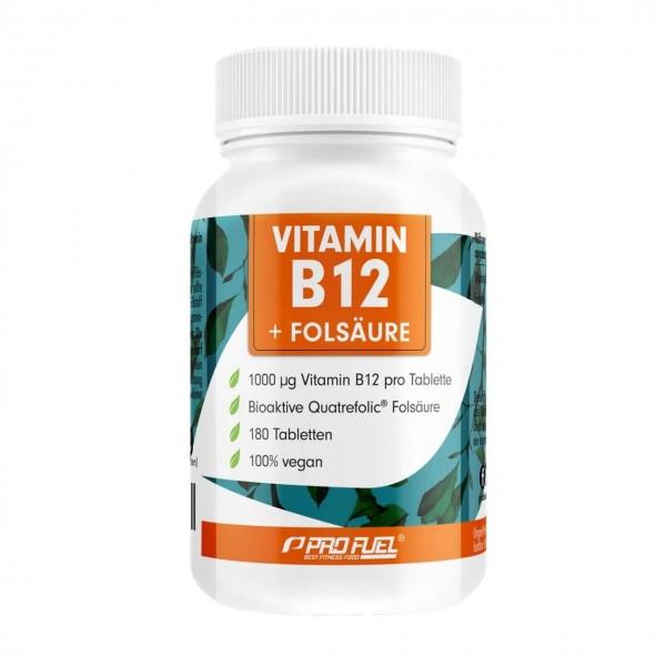 Profuel Vitamin B12 + Folsäure (180 Tabletten)
