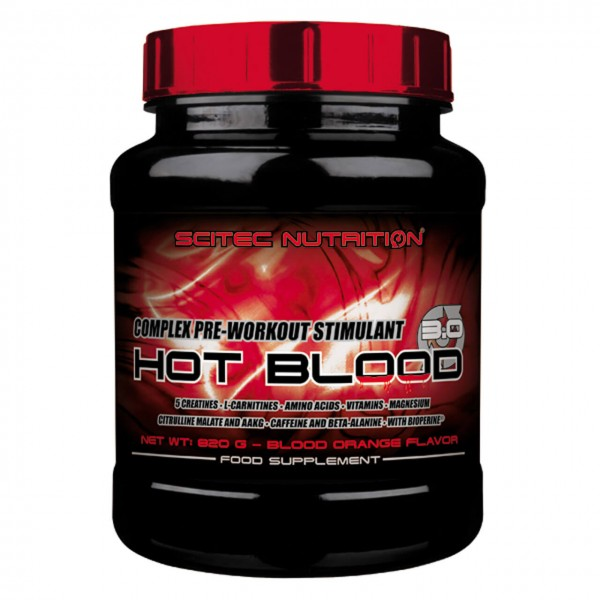 Scitec Nutrition Hot Blood 3.0 (820g)