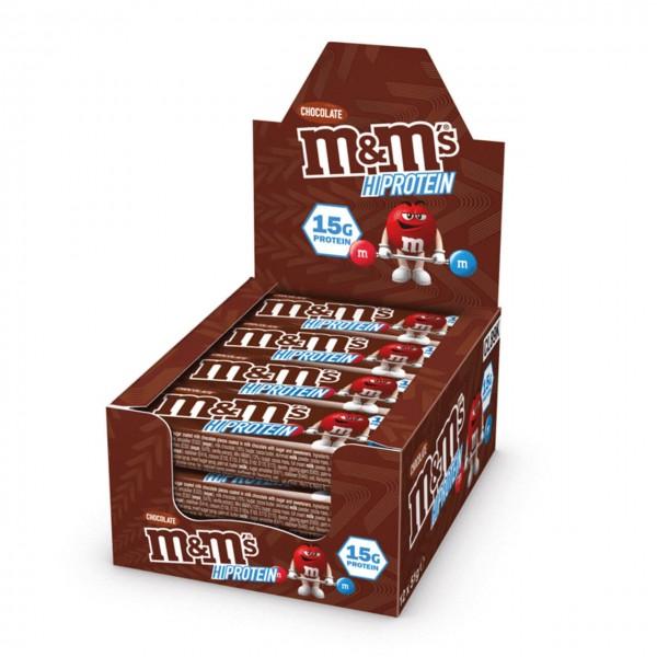 M&M Hi-Protein Bar (12x51g)