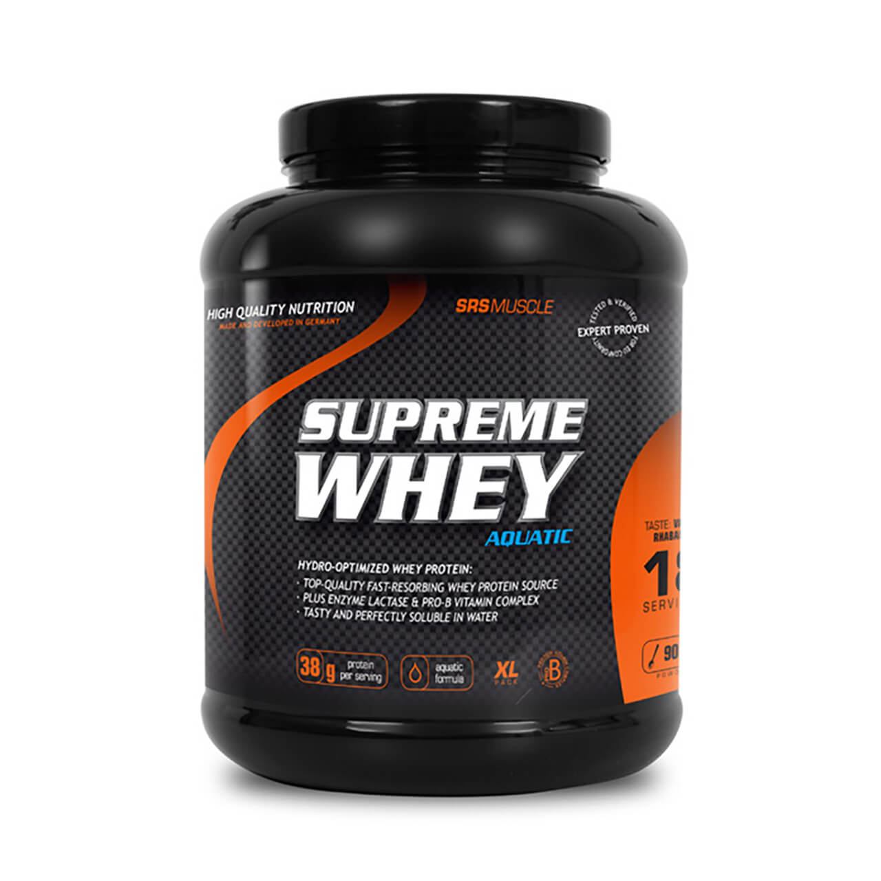 srs muscle supreme whey 900g dose online kaufen vitalymp. Black Bedroom Furniture Sets. Home Design Ideas