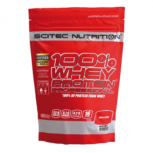 Scitec Nutrition 100% Whey Protein Prof. (500g)