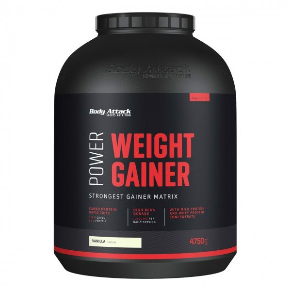 Body Attack Power Weight Gainer (4750g)