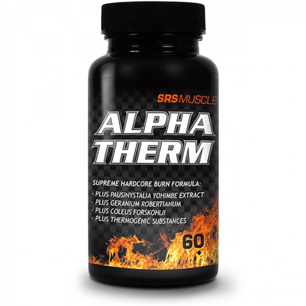 SRS Muscle Alpha Therm (60 Kapseln)
