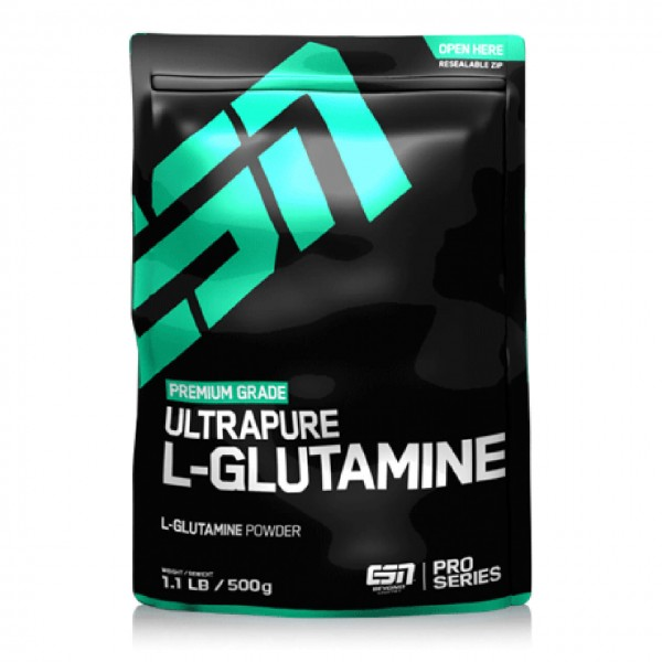 ESN Ultrapure L-Glutamine Powder (500g)