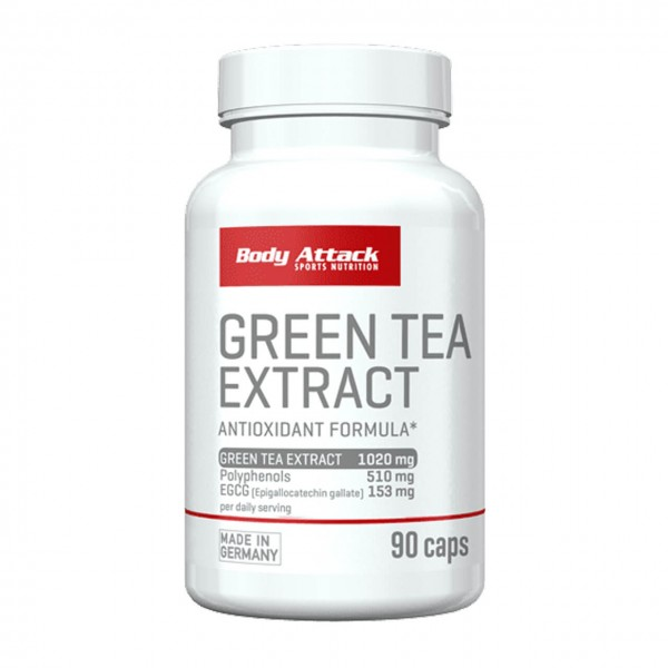 Body Attack Green Tea Extract (90 Kapseln)