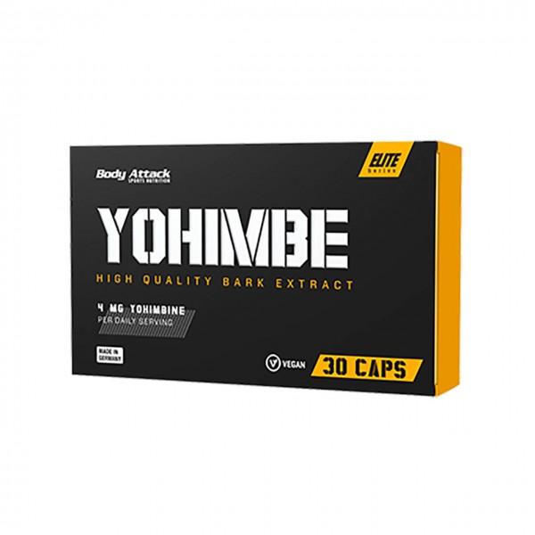 Body Attack Yohimbe (30 Kapseln)