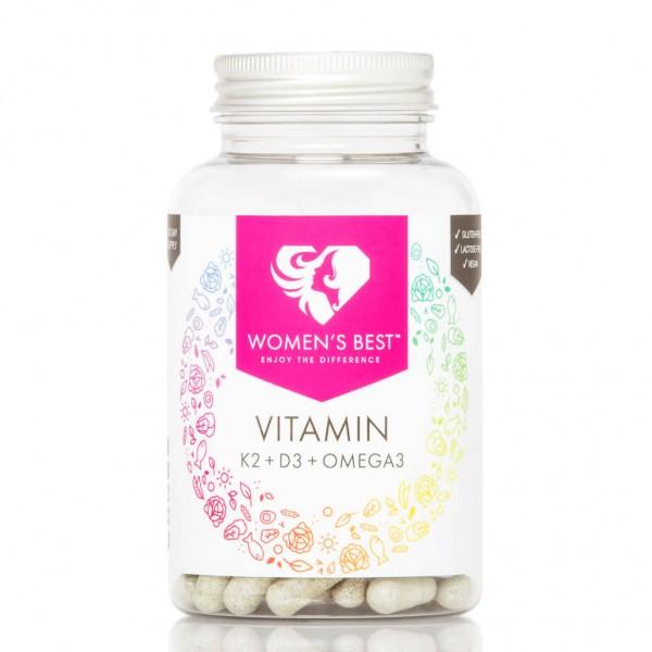 Women's Best Vitamin K2+D3+Omega 3 (100 Kapseln)