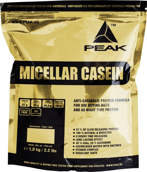 Peak Micellar Casein
