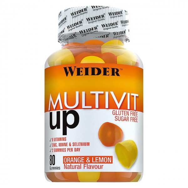 Weider Multivit Up (80 Gummies)