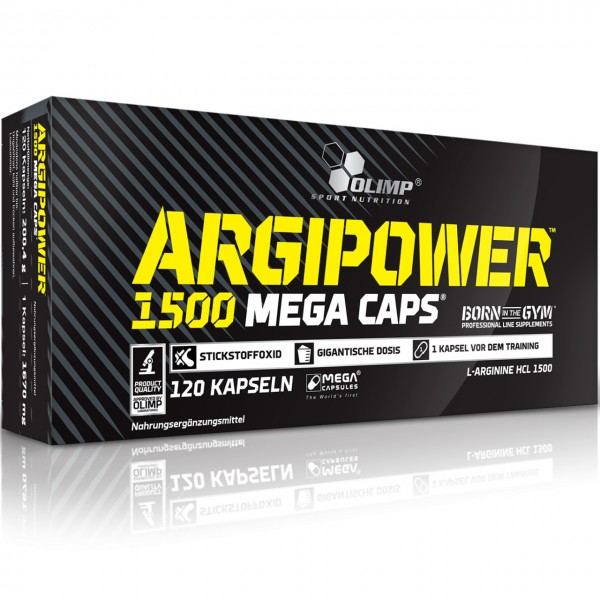 Olimp Argi Power 1500 (120 Mega-Caps)