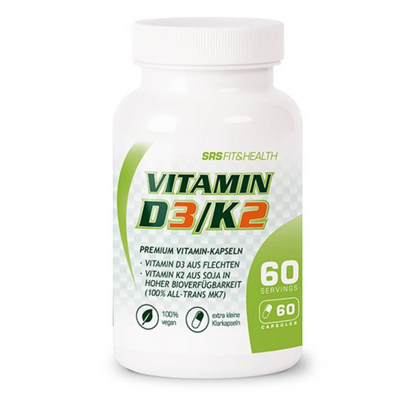 SRS Muscle Vitamin D3/K2 (60 Kapseln)
