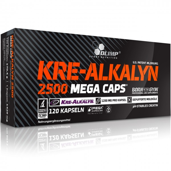 Olimp Kre-Alkalyn 2500 (120 Mega-Caps)
