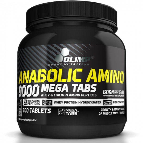 Olimp Anabolic Amino 9000 (300 Tabletten)