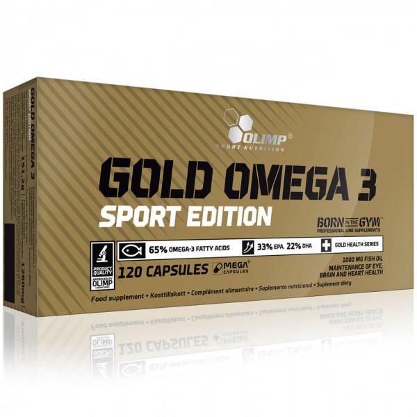 Olimp Omega 3 Sport Edition (120 Kapseln)